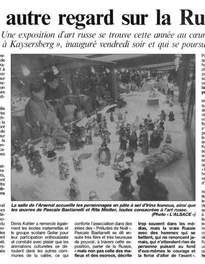 L'ALSACE - 1998
