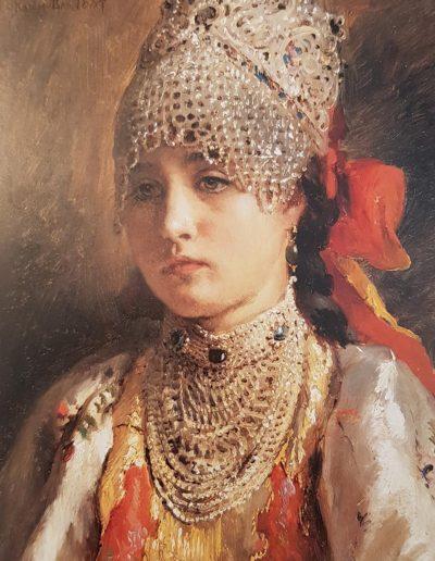 Constantin Makovsky-Jeune boyarine