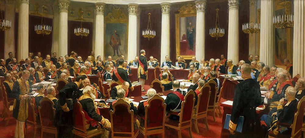 Ilya Répine- Assemblée impériale