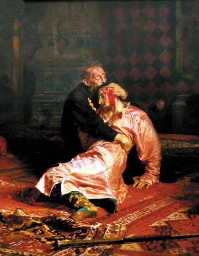 Ilya Répine-Ivan le Terrible et son fils Ivan