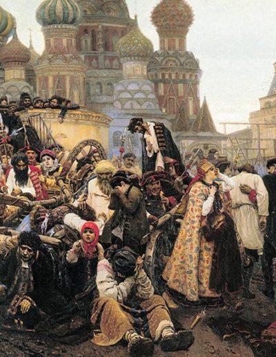 Vasily SURIKOV - le matin de l'exécution des Streltsy