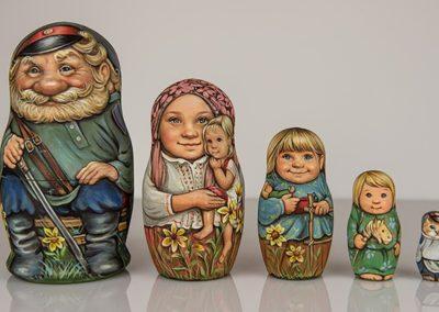 Matriochka - Famille et moi de Sacha Larionova