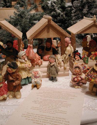 Marché de Noël russe - Pâtes à sel